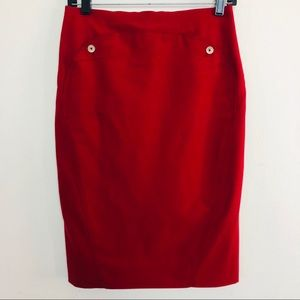 Delta Airline Lands End Uniform Zac Posen Skirt 0P